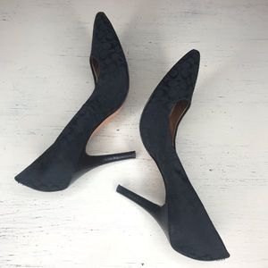 Coach Black Heel, Size 8